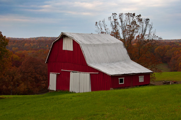Old Red Barn II