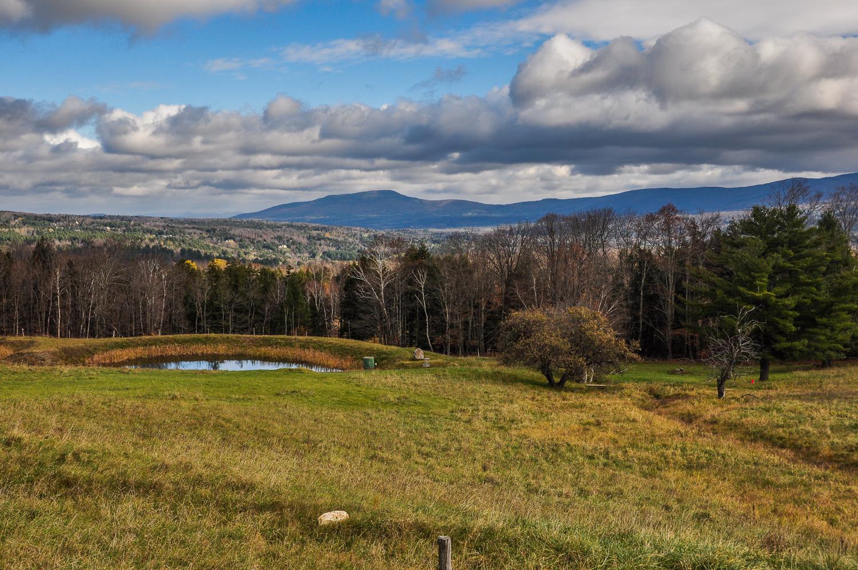 Vermont Mountain Pond